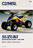 img - for Clymer Suzuki Quad Racer Lt250r 1985-1992 book / textbook / text book