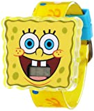 Nickelodeon Sponge Bob Kids SBP730 Molded Iconic Head Watch