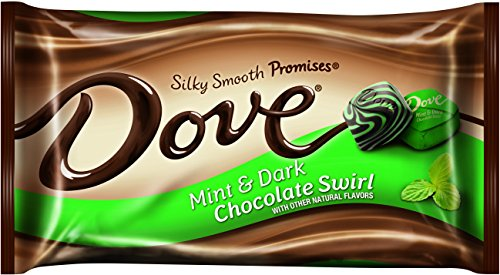 Dove Dark Chocolate Mint Swirl Promises Bag,