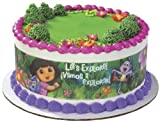 Lucks Edible Image Dora the Explorer Designer Prints Cake Decoration
