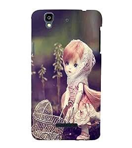 STYLISH GIRL Designer Back Case Cover for YU Yureka::Micromax Yureka AO5510