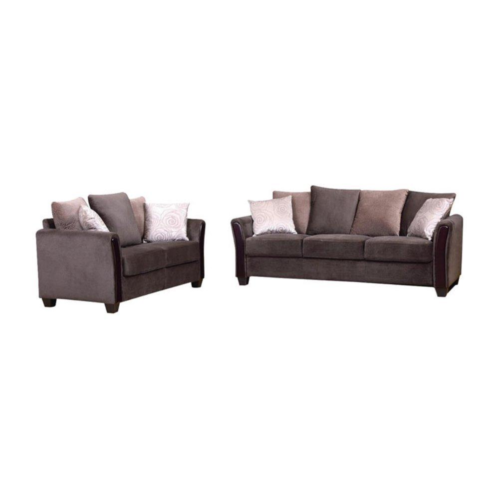 Madison Fabric Sofa And Love Seat