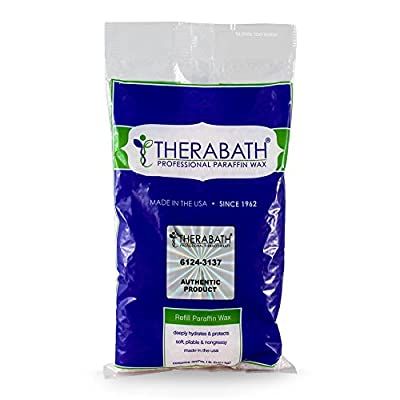 Therabath Paraffin Wax Refill - Use To Relieve Arthitis Pain and Stiff Muscles - Deeply Hydrates and Protects