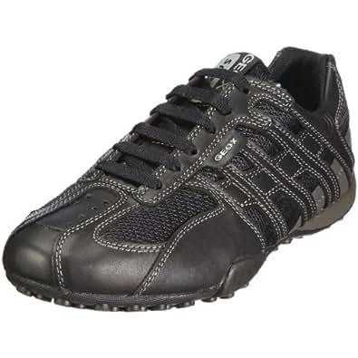 Geox U SNAKE U1107M04311C9204, Herren Sneaker, Schwarz (BLACK/LEAD C9204), EU 39