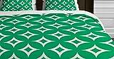 DENY Designs Holli Zollinger Emerald Diamonds Duvet Cover, King