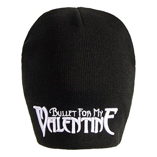 Berretto Con Logo Dei Bullet For My Valentine (Nero)