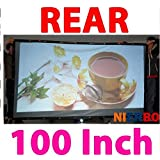 100 Inches 16 9 4 3 Rear Projector Screen Factory Promotions Projection Screen Portable Screen For All Projector