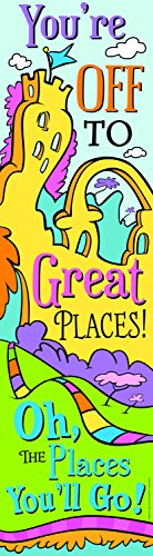 Paper Magic Eureka Dr. Seuss Oh The Places Banners - Vertical