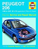 Motionperformance Essentials Haynes Garage Quality Car Repair Manual/Book For Peugeot 206 Petrol & Diesel (98 - 01) S to X Including a De-Mister Pad and 1 Car Air Freshner.