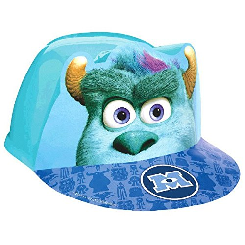 "Amscan Oozma Kappa Mazing Monsters University Deluxe Fabric Party Hat, 6 x 6-1/4"", Blue"