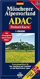 echange, troc Cartes ADAC - Carte touristique : Münchener Alpenvorland, N° BI28