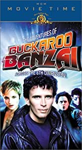 The Adventures of Buckaroo Banzai Across the 8th Dimension [VHS]