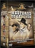 echange, troc Coffret Westerns de légende 3 DVD : Les Cavaliers / Le Vent de la plaine / La Bataille de la vallée du diable