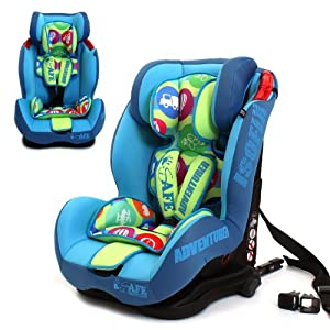 iSafe Isofix Duo Trio Plus and Top Teether Car Seat (Adventurer)