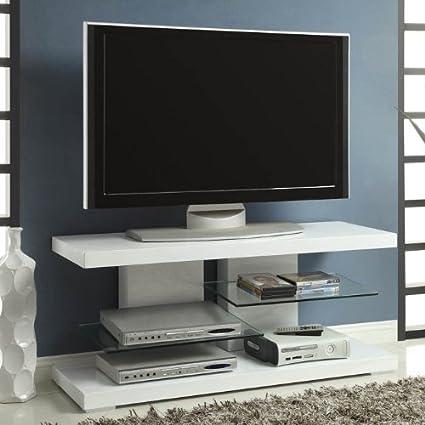 Coaster Home Furnishings 700824 Contemporary TV Console, White