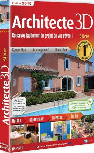 Architecte 3d silver 2010 ensemble complet 1 licence for Architecte 3d 2010