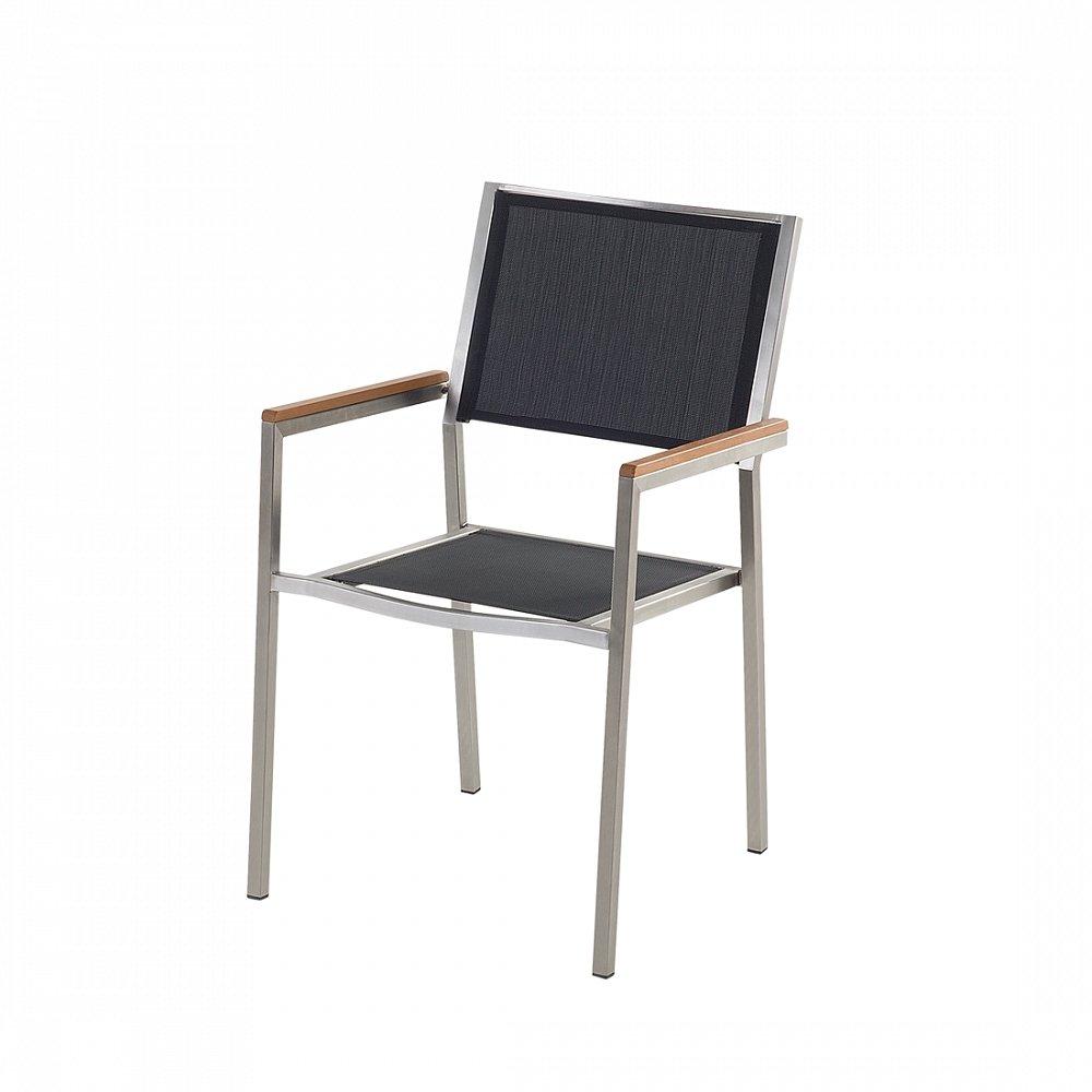 Designer Textil Gartenstuhl – Edelstahl – Sessel – Gartenmöbel – Textilstuhl – GROSSETO günstig online kaufen