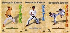 Shotokan Karate Kanazawa 3 DVD Box set Kihon Kumite & Kata