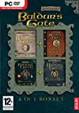 Baldurs Gate 4 in 1 Box Set Game PC