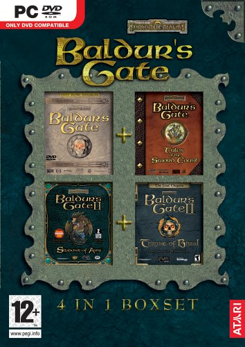 Baldurs Gate 4 in 1 Boxset Game PC