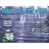 Hail, Sleet, Ice educational poster chart