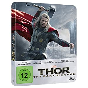 Thor - the Dark Kingdom - 3d+2d - Steelbook - Limi [Blu-ray] [Import allema