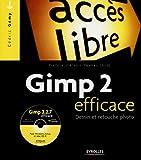 Photo du livre Gimp 2 efficace avec cd-rom