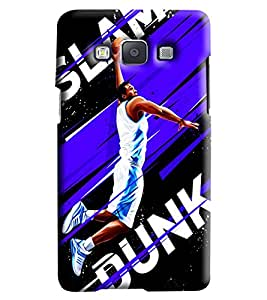 Blue Throat Slam Dunk Basket Baprinted Designer Back Cover/Case For Samsung Galaxy A7
