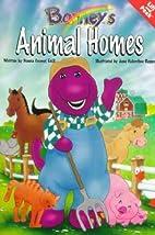 Barney's Animal Homes: A Lift and Peek…