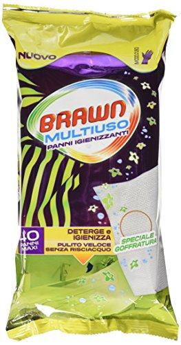 Brawn Salviette Multiuso X 40