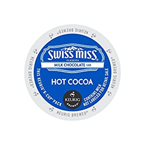 Keurig, Swiss Miss, Milk Chocolate Hot Cocoa, K-Cup packs, 72 count