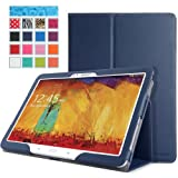 MoKo Samsung Galaxy Note 10 2014 Edition Case - Slim Folding Cover For Note 10.1 Inch 2014 Edition Tablet INDIGO...