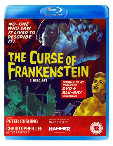 The Curse of Frankenstein (Blu-ray + DVD) [1957].