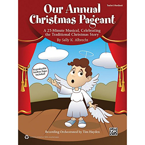 Alfred Our Annual Christmas Pageant Book & Cd front-590971