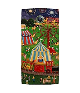 Evening Carnival Alcatel One Touch Flash 2 Case