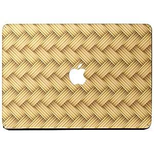 Wonderskins WSAir_13inch_0020 Macbook Air 13inch Vinyl Skin with Apple Logo and Round Edges Cutout