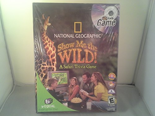 National Geographic Show Me the Wild! A Safari Trivia Game. Tv DVD Game - 1
