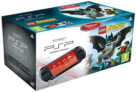 PSP -Consola E 1000 (Negra) + Lego Batman