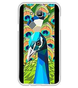 Beautiful Peacock 2D Hard Polycarbonate Designer Back Case Cover for Samsung Galaxy E5 (2015) :: Samsung Galaxy E5 Duos :: Samsung Galaxy E5 E500F E500H E500HQ E500M E500F/DS E500H/DS E500M/DS