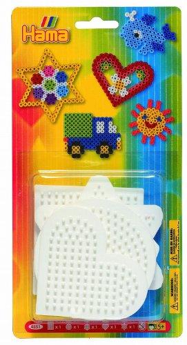 Hama DAN Import 4551 - Patrones pequeños para hacer figuras con cuentas para planchar