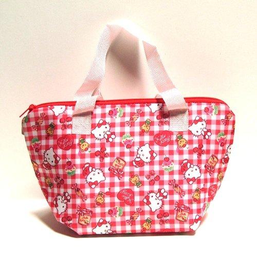 """Sanrio Hello Kitty Design Eco-Friendly Lunch Bag (Sizes: W11""""Xh6.25""""Xd4.75"""")"""