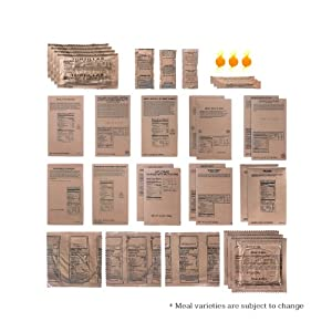 9-Meal MRE Food Supply by Emergency Essentials