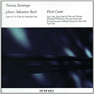 Bach/Carter: Instrumental and Chamber Works from ECM New Series