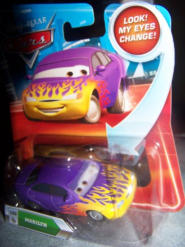 Disney / Pixar CARS Movie 155 Die Cast Car with Lenticular Eyes Series 2 Marilyn
