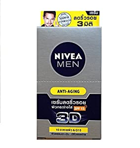 Nivea Men 3D Anti-Aging Serum SPF 15 With Q10 & Wrinkle Repair System