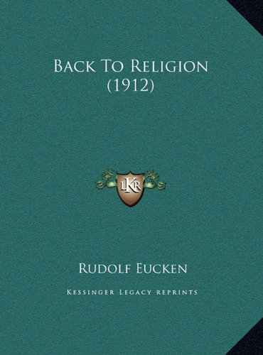 Back to Religion (1912)
