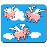 When Pigs Fly Mouse Pad from Redeye Laserworks