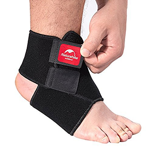 Ezyoutdoor Unisex Black Breathable Neoprene Ankle Support Elastic Ankle Foot Compression Wrap Strap Support Bandage Brace Protective Guard for Outdoor Sports Gym Volleyball Basketball (XL) (Camp Neoprene Seat Covers compare prices)