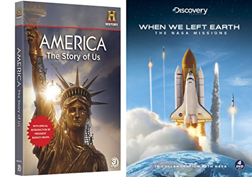 history-collection-when-we-left-earth-limited-edition-steelbook-america-the-story-of-us-3-disc-colle