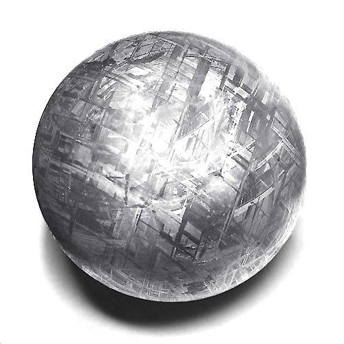 天然石 隕石ナミビア産メテオライトギベオン鉄隕石丸玉約80mm 1点 【1点】